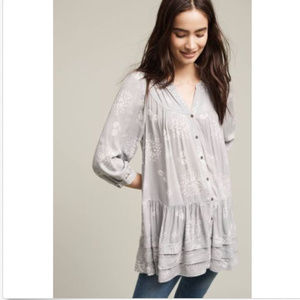 Holding Horses Anthropologie Pavin Tunic Top